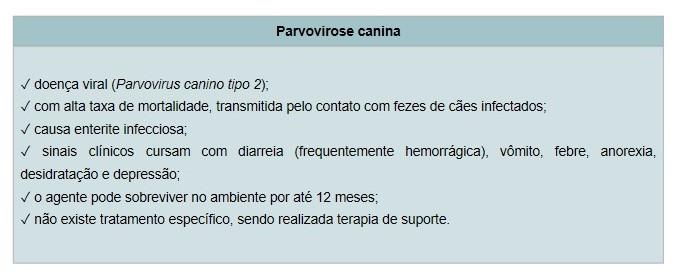 Parvovirose Canina - Vacinas para Cachorros