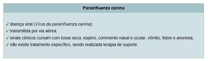 Parainfluenza Canina - Vacinas para Cachorros